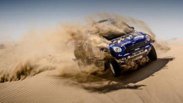 Dubai International Baja 2017 – MINI feiert einen dritten Platz.