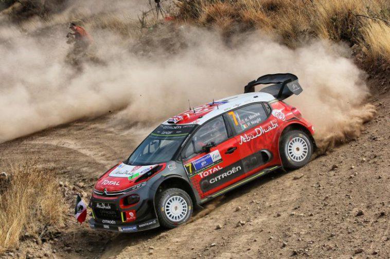 Kris Meeke und Paul Nagle holen in Mexiko ersten Sieg im Citroën C3 WRC