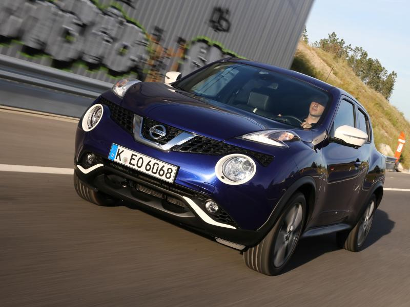 der nissan juke im gebrauchtwagen check 5 t rig. Black Bedroom Furniture Sets. Home Design Ideas